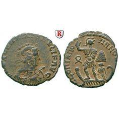 Römische Kaiserzeit, Valentinianus II., Bronze 378-383, ss/ss-vz: Valentinianus II. 375-392. Bronze 23 mm 378-383 Antiochia.… #coins