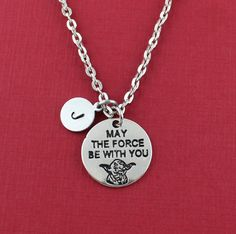Silver Plated May The Force Be With You by SweetRideAccessories