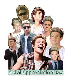 """""""Niall Appreciation Day!"""" by fangirl-1d ❤ liked on Polyvore featuring art and NiallAppreciationDay"""