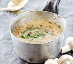 Μία από τις ωραιότερες γεύσεις που θα απολαύσουν οι καλεσμένοι σας! Η πιο εύκολη και συνάμανόστιμη μανιταρόσουπα που δοκιμάσατε ποτέ και επιβάλλει ο καιρός…  Χρόνος προετοιμασίας: 45′  Τι θα χρειαστείτε (για 4 άτομα):  500 γρ. μανιτάρια λευκά σε Lunch Recipes, Soup Recipes, Vegan Recipes, Cooking Recipes, Food Network Recipes, Food Processor Recipes, Greek Recipes, Food For Thought, Easy Meals