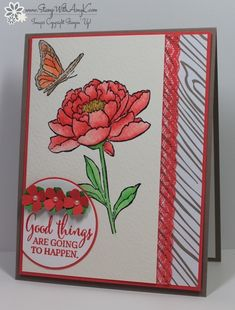 I used the new Stampin' Up! stamp sets called You've Got This and Best Thoughts (Host Exclusive) to create a watercolored card for the Stamping and Blogging sketch this week. Here is the sketch SB1...