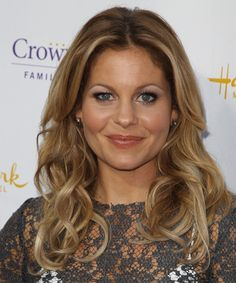 Candace Cameron Bure Long Wavy Hairstyle - Dark Blonde