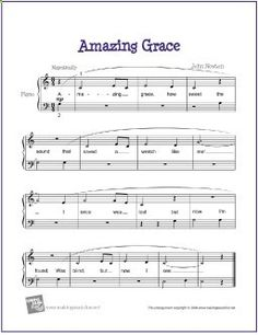 Amazing Grace | Free Sheet Music for Easy Piano (Digital Print)https://makingmusicfun.net/htm/f_printit_free_printable_sheet_music/amazing-grace-easy-piano.htm