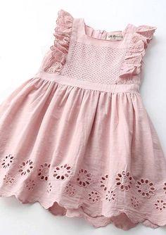 Cotton Eyelet Dress | Etsy