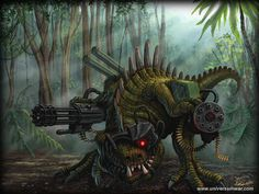 sci-fi jungle - Google Search