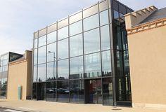 Façade d'HEI campus Centre Centre, Multi Story Building, Audio Engineer