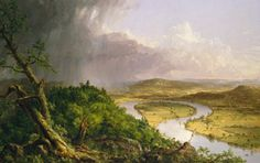 Thomas Cole inspired the generation of American landscape painters that came to be known as the Hudson River School.