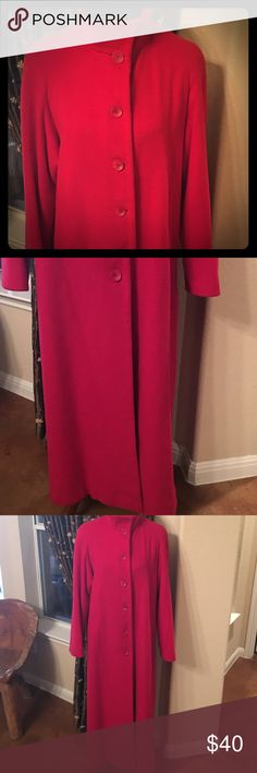 """90% Wool 10% Cashmere Full Length """"Talbots"""" Coat This beautiful coat will keep you warm on those cold winter days! Gently loved. All proceeds from this sale will go directly towards purchasing hygiene items for the homeless in downtown Austin. Talbots Jackets & Coats Trench Coats"""