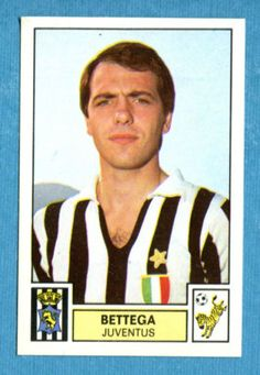 CALCIATORI-1975-76-Panini-Figurina-Sticker-n-151-BETTEGA-JUVENTUS-Rec