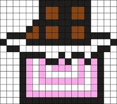 Pixel Art Nourriture Chocolat