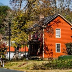Glencoe Mill Village - Historic Sites - Capture remarkable photos with your family of the beautiful scenery through the village and river at Glencoe Mill Village