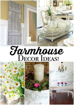 Farmhouse Decor Ideas at Refresh Restyle weathered wood wall treatement - perfect for farmhouse look - shiplap - stikwood