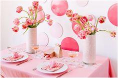 Summer Wedding Flowers Inspiration: Pink Peony Tulips   OneWed