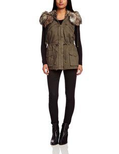 Amazon.com: French Connection Women's Freda Parka: Clothing