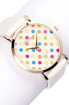 Confetti dot watch