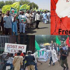 नाइजीरिया - आयतुल्लाह ज़कज़की की रिहाई की मांग कर रहे प्रदर्शनकारियों पर पुलिस का बल प्रयोग
