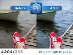 Free Lightroom preset 204 of 365. This guy does amazing presets!
