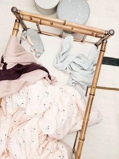 Swan Bedding. Nursery inspiration.