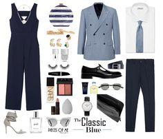 Azul - Look Clássico - Blogs de Moda
