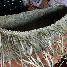 Wahakura in the making – Updated – Weaving Is Pretty Awesome
