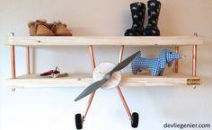 kinderkamer-vliegtuig-wandplank-voorkant1-devliegenier-com