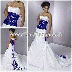royal blue wedding dresses - Google Search