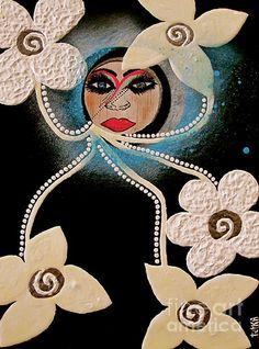 Goddess Power: Original Collectors TetkaART  ARTIST: Lady Picasso, Tetka Rhu  YOUR Artist of Creation  http://ladypicasso.me  http://tetkaart.com