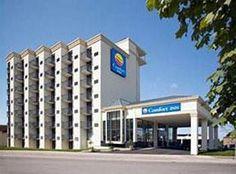 Comfort Inn Fallsview 2.5 Star HotelNear Horseshoe Falls Niagara Falls, CA$44.04 CAD