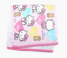 Hello Kitty Bath Towel: Heart
