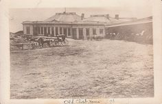 A photo of the original Cliff House - image is dated 1890
