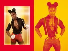 Sexy Mickey mouse costume men's