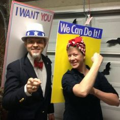 uncle sam couple costume - Google Search