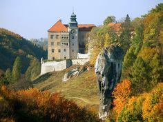 Hercules Club Rock in Ojcow National Park near Krakow in Poland