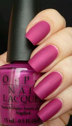 I want to try matte nails!