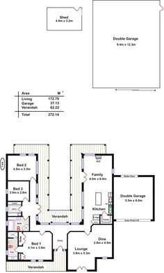 floorplan - u shape + entrance