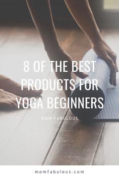 Whether you're looking into yoga to increase your flexibility, increase core strength or just relax and decrease stress, here are the eight best products for yoga beginners. #MomLife #MomFabulous #Mom #Yoga #Workouts #Workout #WorkingOut #YogaClass Health And Fitness Tips, For Your Health, Thing 1, Athleisure Outfits, Yoga Workouts, Workout Regimen, Just Relax, Trying To Lose Weight, Yoga For Beginners