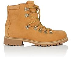"""TIMBERLAND Bny Sole Series: """"Authentic Hike"""" Nubuck Boots. #timberland #shoes #boots"""
