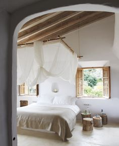 pinterest bedroom ideas | 45 Cozy Rustic Bedroom Design Ideas | DigsDigs