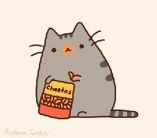 pusheen the cat coloring pages | Amor Gato Cheetos Pusheen Alimentos
