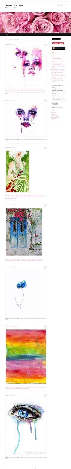 watercolor art tumblr - Google Search