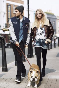 Pepe Jeans A/W 2013 Campaign featuring Cara Delevingne