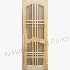 This is Local Kail Wood Wire Mesh Four Panel Door. Code is Product of Doors - Local keil Wood wire mesh panel door design, Also available in ash wood, dayar wood, kail wood, dayar wood. Indian Window Design, Wooden Window Design, Front Door Design Wood, House Fence Design, Home Door Design, Door Design Interior, Mesh Panel, Panel Doors, Single Door Design