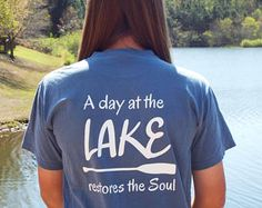 A day at the lake restores the soul