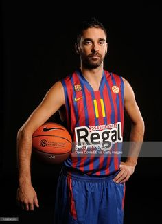 921e40a06 Juan Carlos Navarro of FC Barcelona Regal is photographed during the  Euroleague Basketball Media day on
