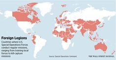 New Way the U.S. Projects Power Around the Globe: Commandos - WSJ