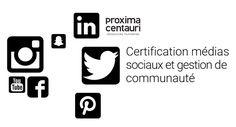 Nouvelle formation pour automne 2016 - Certification médias sociaux et gestion de communauté.