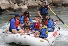 The Lower Animas River, Durango, Colorado, is perfect for group and family trips!  See our Lower Animas River trip options here: https://mild2wildrafting.com/colorado-rafting/durango-rafting.html