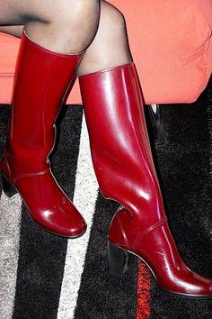 Afbeeldingsresultaat voor girls in rubber waders Thigh High Boots, High Heel Boots, High Heel Pumps, Pumps Heels, Flats, Heeled Rain Boots, Wellies Rain Boots, Bootie Boots, Botas Sexy
