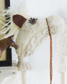Sweet+Paul+Craft | Repurpose socks into these darling hobby horses!