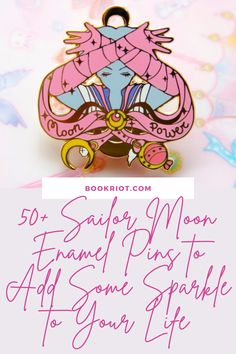 Show off your fandom with your pick of more than 50 gorgeous Sailor Moon enamel pins! Plus, Sailor Moon pin boards to display them.